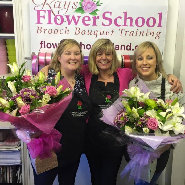 Flower School Students at Kays Flower School