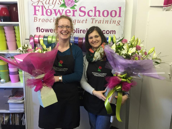 Floral Students at Kays school of Floristry