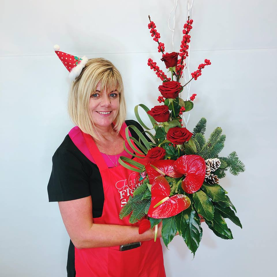 Christmas Flower Workshop at Kays