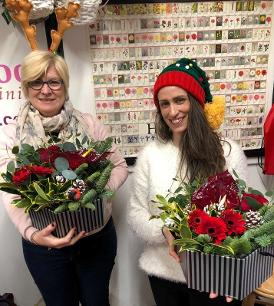 Christmas At Kays flower school