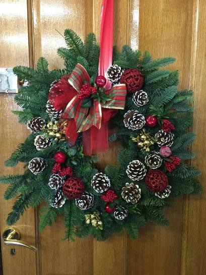 Christmas Wreath Making Classes at Kays Flower School