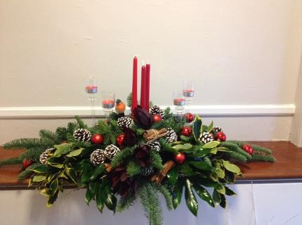 Mantle piece Arrangment at kays