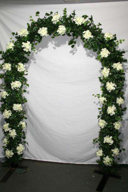 Learn to make a Floral Arch, Floral Pillars & Floral Chandeliers
