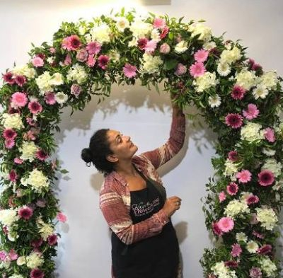 How to make a fresh flower arch workshop