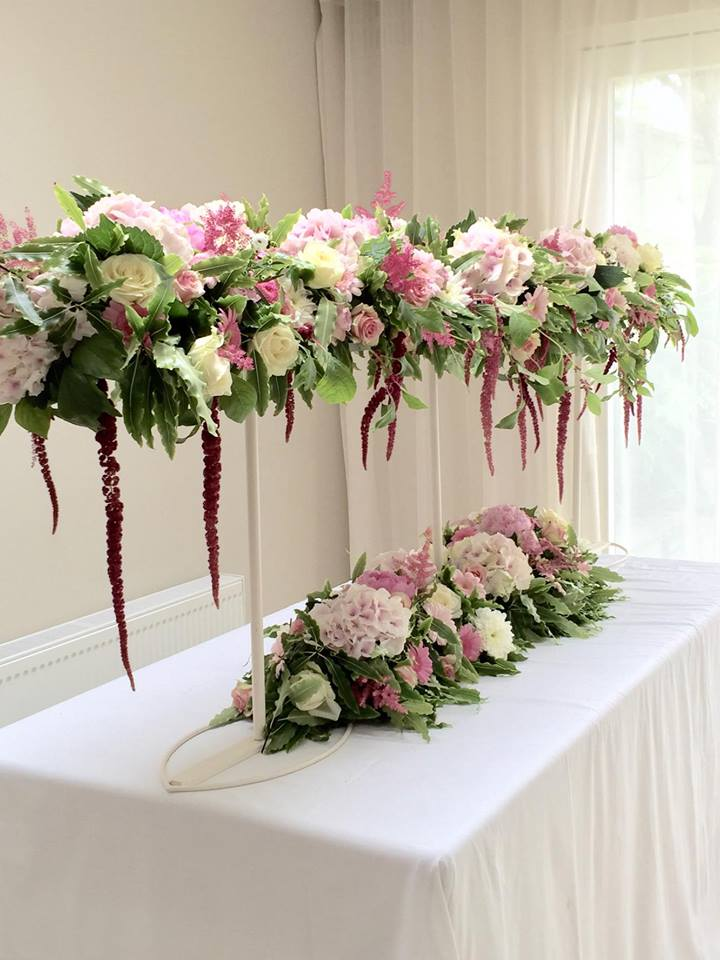 luxury tablescapes at kays flower school ireland