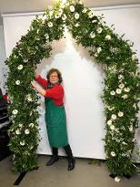 Online course how to make flower arch