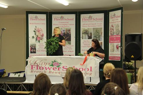 Flower Demonstration by kays flower school