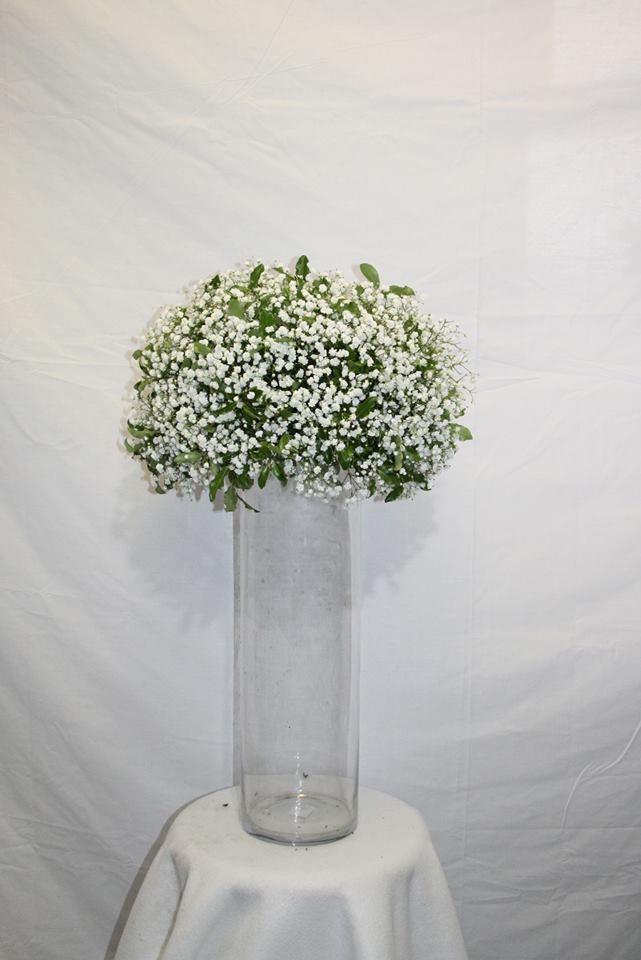 baby's breath flower ball for table